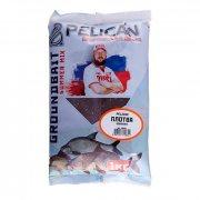 Купить Прикормка Pelican «Плотва Конопля» 1кг