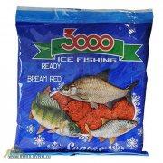 Купить Прикормка зимняя готовая Sensas 3000 BREAM RED 0.5кг