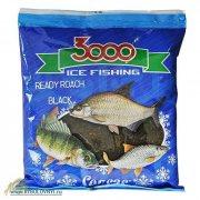 Купить Прикормка зимняя готовая Sensas 3000 ROACH BLACK 0.5кг