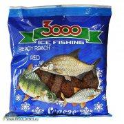Купить Прикормка зимняя готовая Sensas 3000 ROACH RED 0.5кг