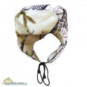 Купить Шапка-ушанка флисовая с мембраной