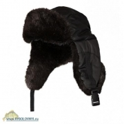Купить Шапка-ушанка с регулировкой размера (Соболь)