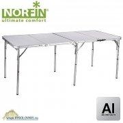 Купить Стол складной для рыбалки Norfin GAULA-XL NF алюминиевый 180x80