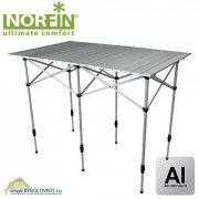 Купить Стол складной для рыбалки Norfin GLOMMA-M NF алюминиевый 110x71