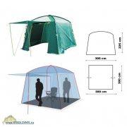 Купить Тент-шатер Canadian Camper Camp (цвет Woodland)
