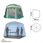 Купить Тент-шатер Canadian Camper Expedition Pro (цвет Woodland)