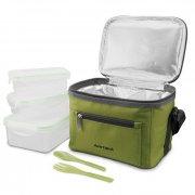 Купить Термосумка Арктика с набором контейнеров для еды (зеленая)