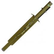 Купить Тубус для удилищ Aquatic ТК-110-2 175 см с 2 карманами (диаметр 110 мм)