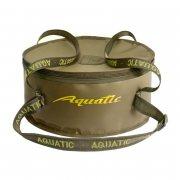 Купить Ведро для прикормки Aquatic В-03 (с крышкой),цв.Хаки