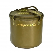 Купить Ведро для прикормки Aquatic В-04 (герметичное, с крышкой),цв.Хаки