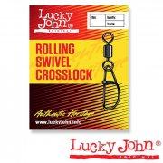 Купить Вертлюги с застежкой Lucky John Rolling and Crosslock