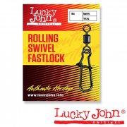 Купить Вертлюги с застежкой Lucky John Rolling and Fastlock