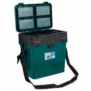 Купить Ящик-М зимний Helios 19л зеленый