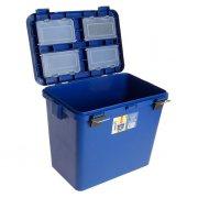 Купить Ящик-М зимний Helios односекционный 19л синий