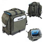 Купить Ящик-рюкзак рыболовный зимний Salmo 61 (из тр;х частей) (300x380x380 мм)