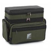 Купить Ящик-сумка-рюкзак рыболовный зимний Формула рыбалки 2-х ярусный H-2LUX