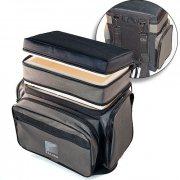 Купить Ящик-сумка-рюкзак рыболовный зимний пенопластовый 2-х ярусный B-2LUX