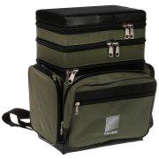 Купить Ящик-сумка-рюкзак рыболовный зимний пенопластовый 3-х ярусный B-3LUX