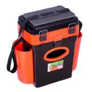 Купить Ящик рыболовный зимний Helios FishBox 10л оранжевый