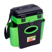 Купить Ящик рыболовный зимний Helios FishBox 10л зеленый
