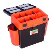 Купить Ящик рыболовный зимний Helios FishBox 19л оранжевый