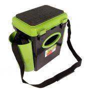 Купить Ящик рыболовный зимний Helios FishBox односекционный 10л зеленый