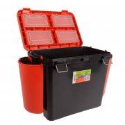 Купить Ящик рыболовный зимний Helios FishBox односекционный 19л оранжевый