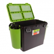 Купить Ящик рыболовный зимний Helios FishBox односекционный 19л зеленый