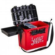 Купить Ящик рыболовный зимний Lucky John (из 6-ти частей) (380x260x315 мм)