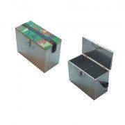 Купить Ящик рыболовный зимний нержавеющая сталь (400x190x290 мм)