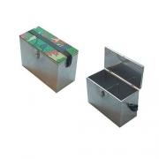 Купить Ящик рыболовный зимний оцинкинкованная сталь (300x190x290мм)