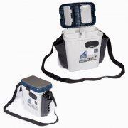 Купить Ящик рыболовный зимний Salmo 2-х ярусный пластиковый с карманами (335x235x390 мм)