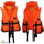 Купить Жилет спасательный Восток (52-56) 100кг (оранжевый)