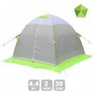 Купить Зимняя 2-x местная палатка Лотос 2 зеленая